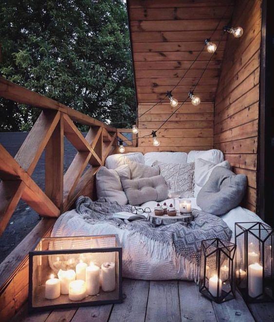 Apartment Patio Ideas: Cozy Warm Decor