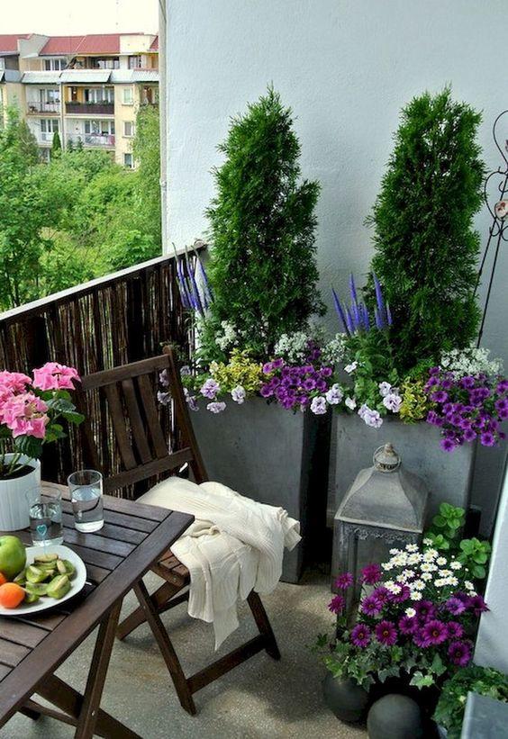 Apartment Patio Ideas: Colorful Earthy Decor