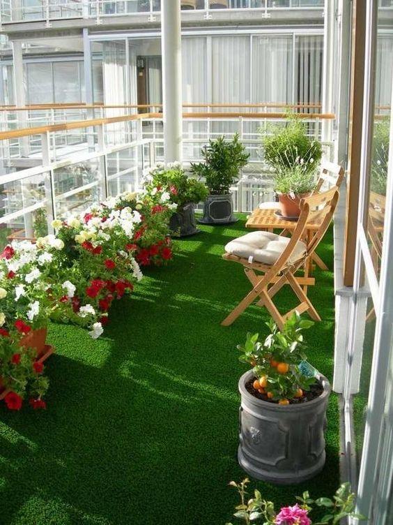 Apartment Patio Ideas: Enchanting Natural Vibe