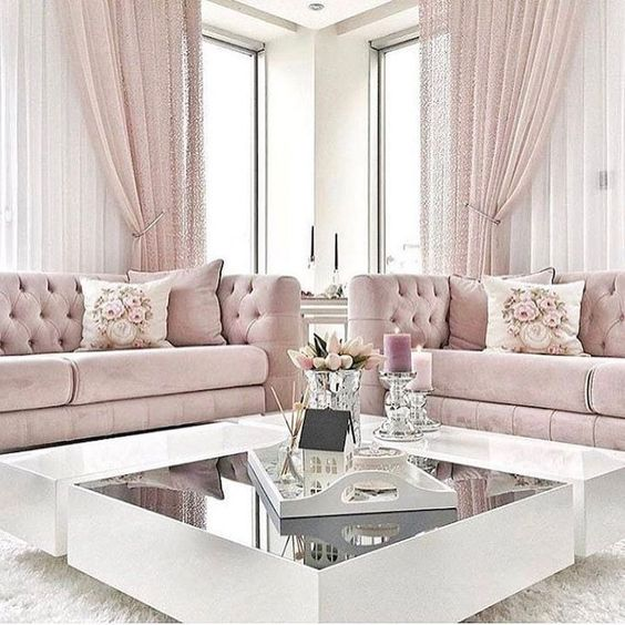 Pink Living Room 13