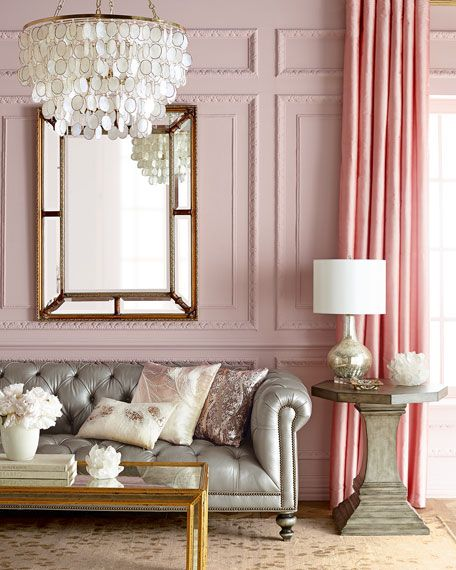 Pink Living Room 15