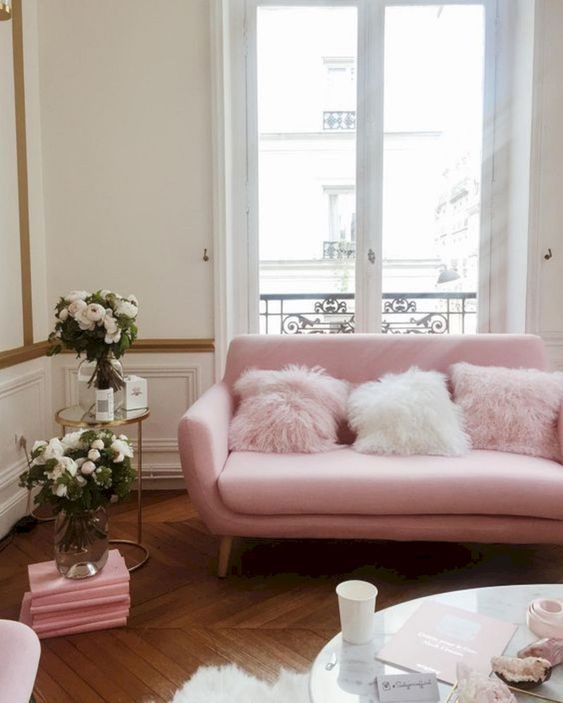 Pink Living Room 17