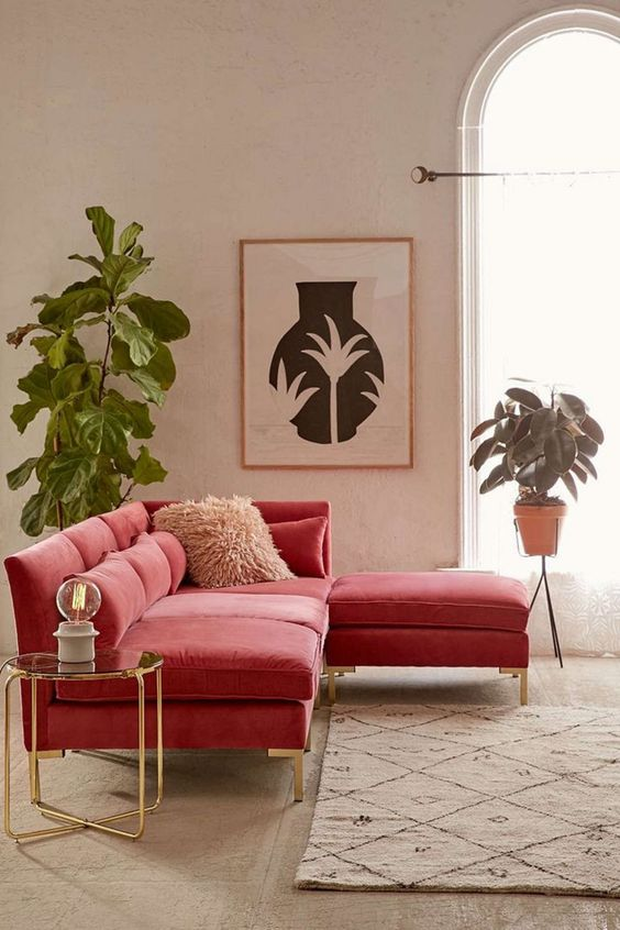 Pink Living Room 20
