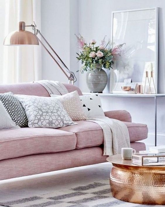 Pink Living Room 22