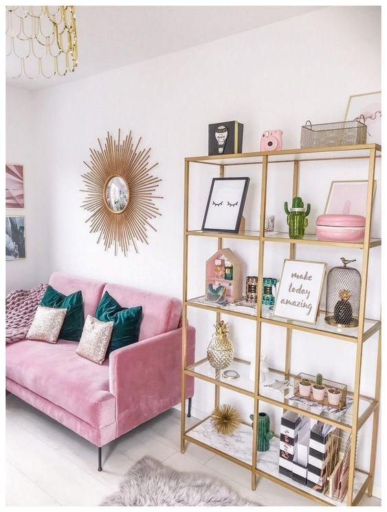 Pink Living Room 24