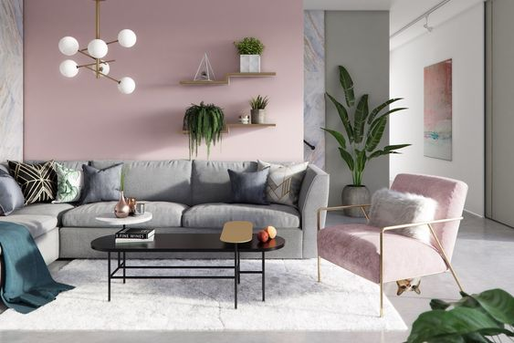 Pink Living Room 25