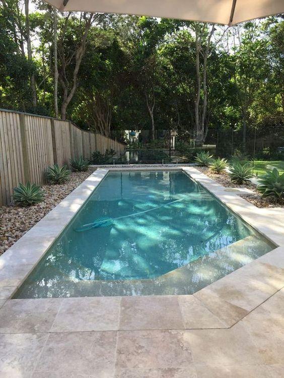 Backyard Swimming Pool: Rustic Elegant Design