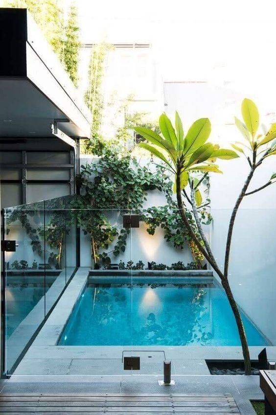 Backyard Swimming Pools: Cozy Minimalist Design