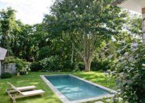 backyard swimming pool feature