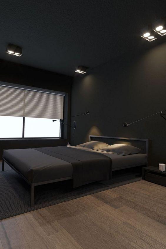 black bedroom ideas 12