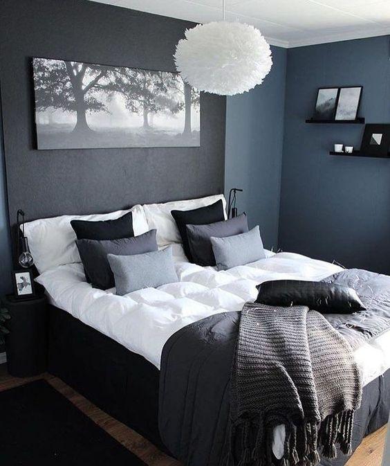 black bedroom ideas 14