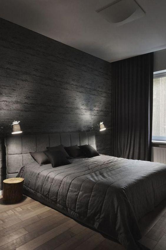 black bedroom ideas 16