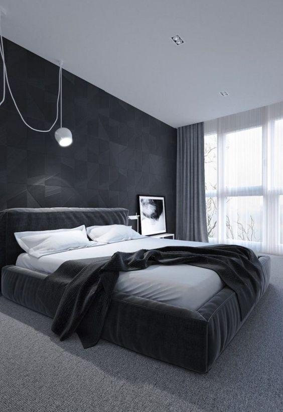 black bedroom ideas 17