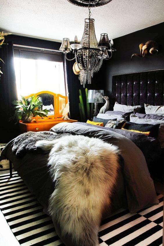 black bedroom ideas 18