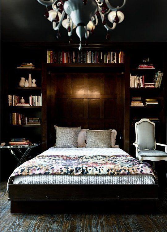 black bedroom ideas 23
