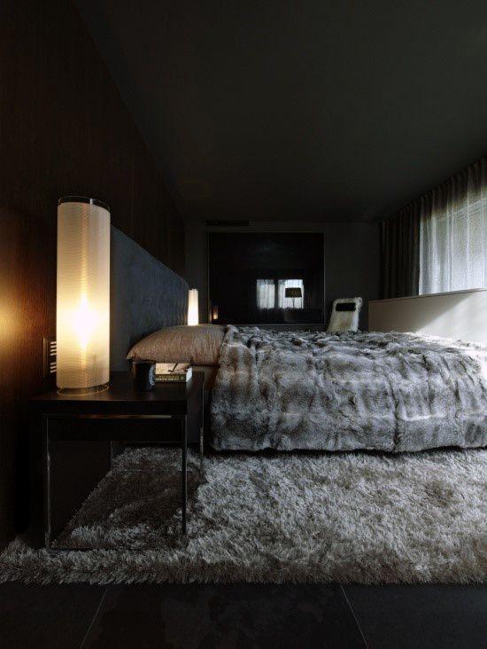 black bedroom ideas 24