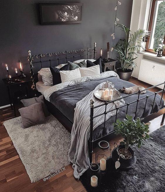 Black Bedrooms Decor: Catchy Boho Decor