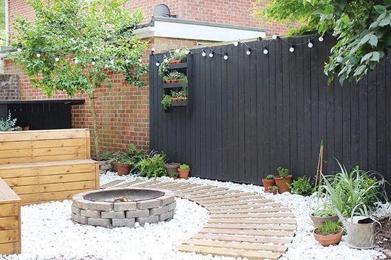 black fence ideas 24