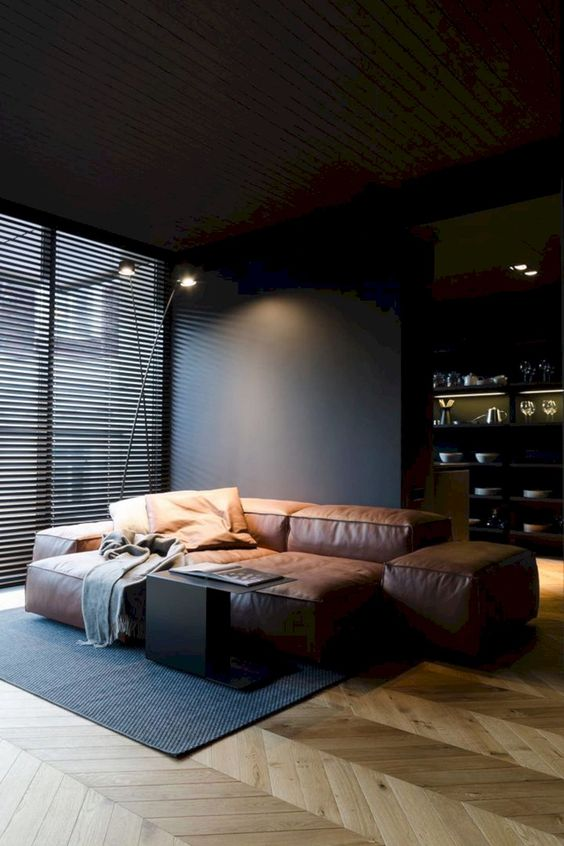black living room ideas 18