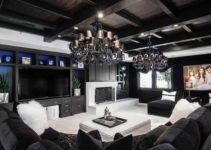 Black Living Room: 25+ Elegantly Bold Ideas with Distinctive Vibe