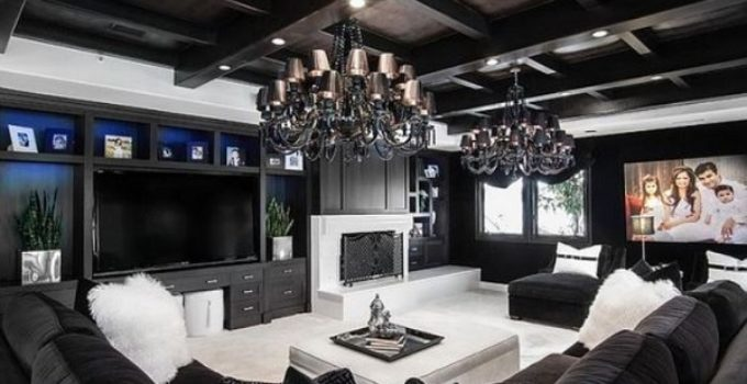 black living room ideas feature