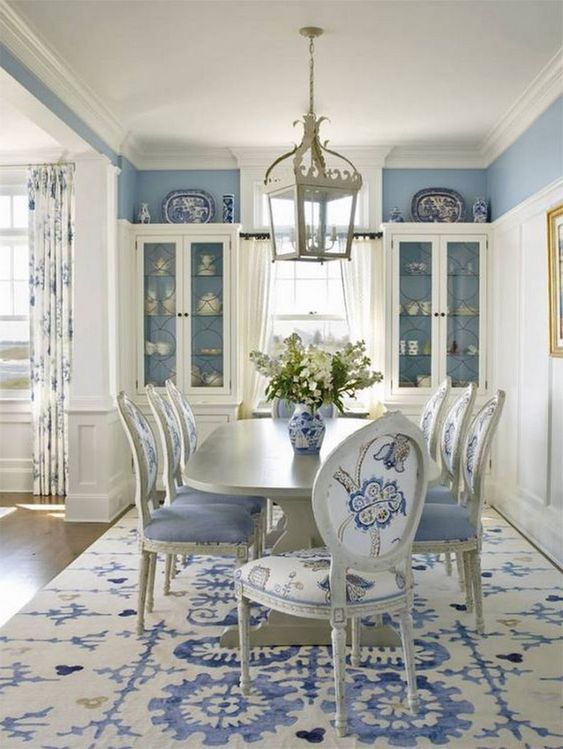 Blue Dining Room Ideas 25 Most