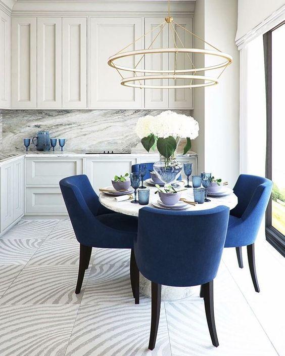 blue dining room ideas 11