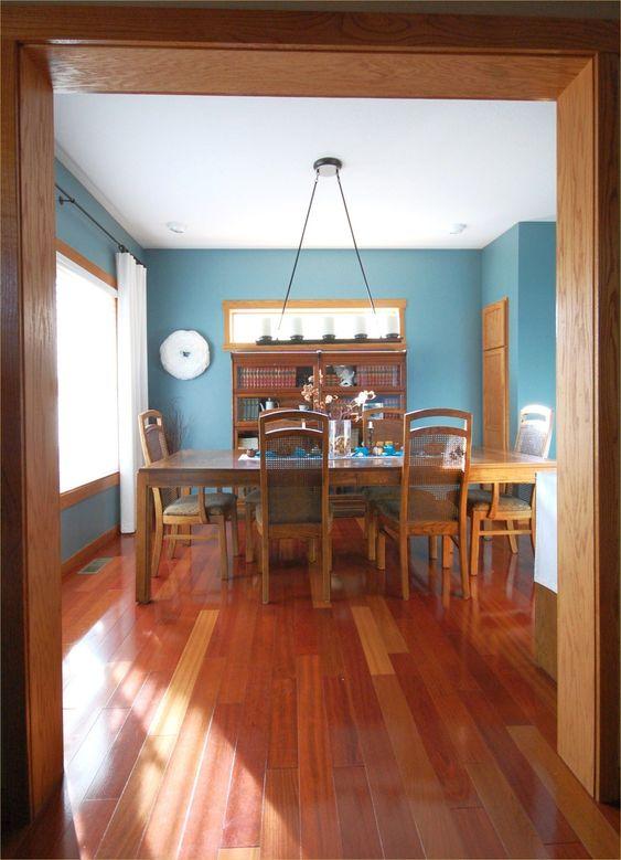 blue dining room ideas 12