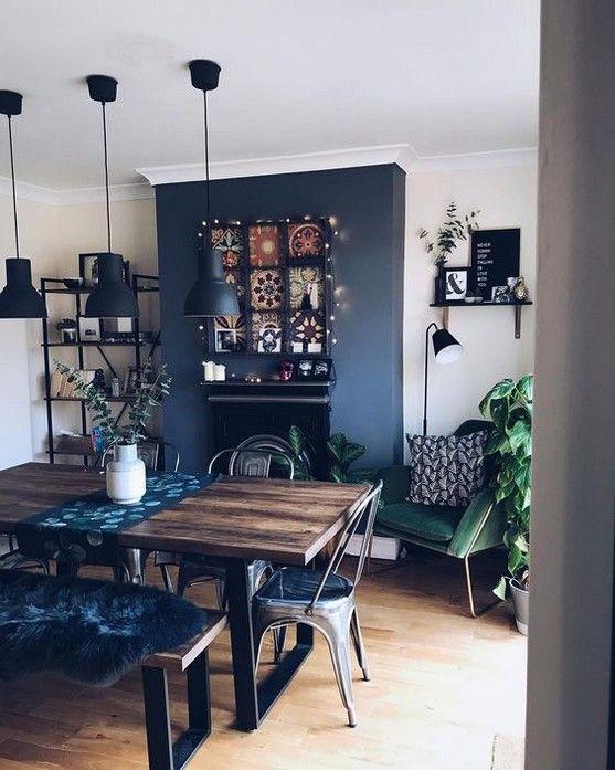 blue dining room ideas 13