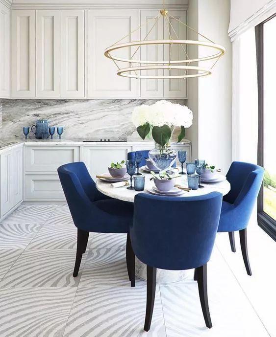 blue dining room ideas 18
