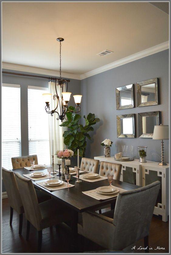 blue dining room ideas 19