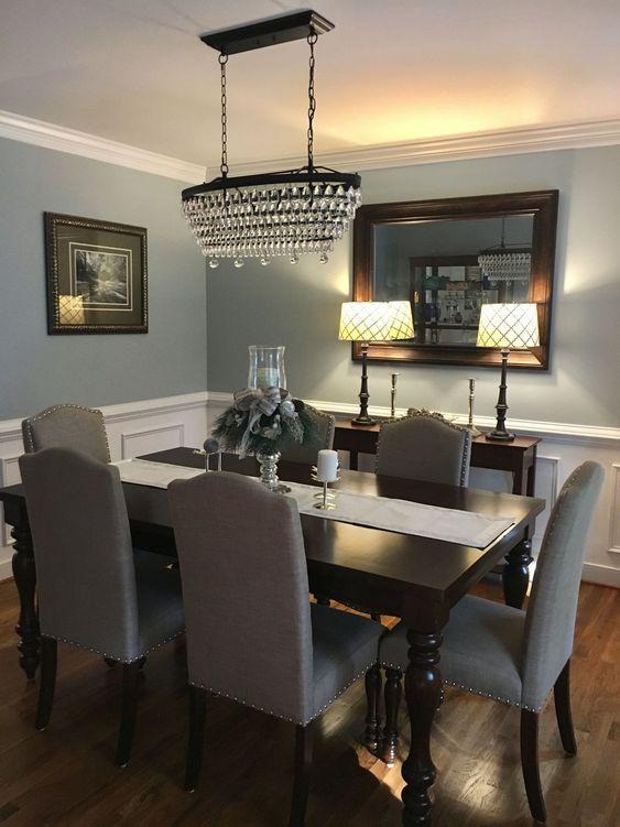 blue dining room ideas 20