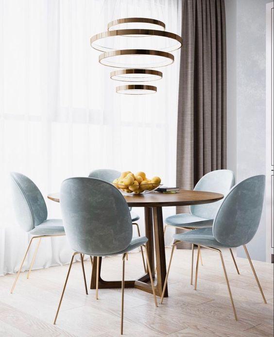 blue dining room ideas 21