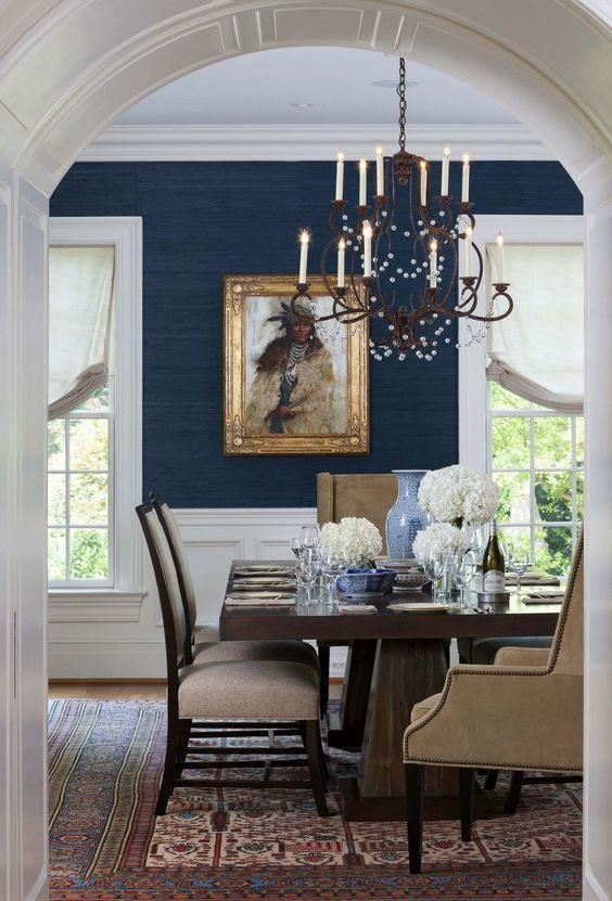 blue dining room ideas 24