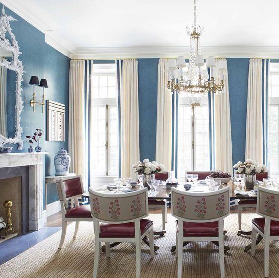 blue dining room ideas 25
