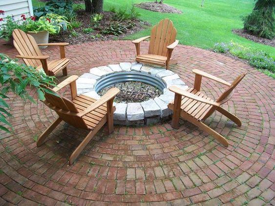 brick patio ideas 23
