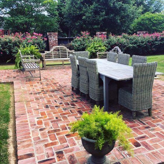 Brick Patio Ideas: Gorgeous Spacious Design