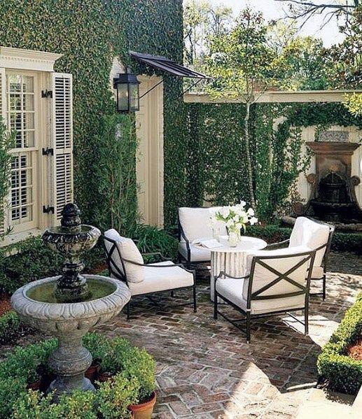 Brick Patio Ideas: Elegant Rustic Design