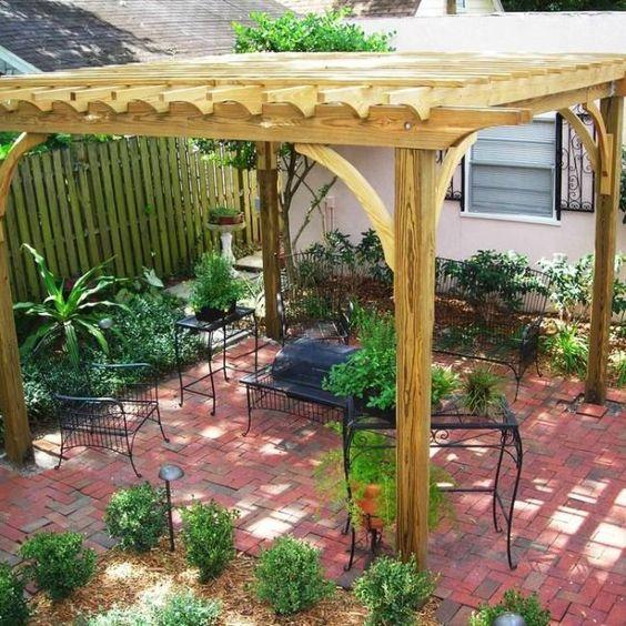 Brick Patios Ideas: Cozy Earthy Design