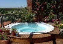 hot tub garden 2
