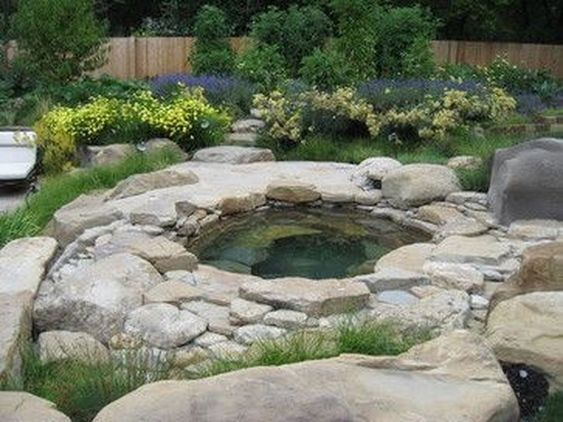 Natural Hot Tub: Mesmerizing Spa Garden