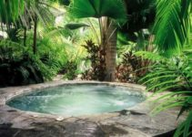 natural hot tub feature