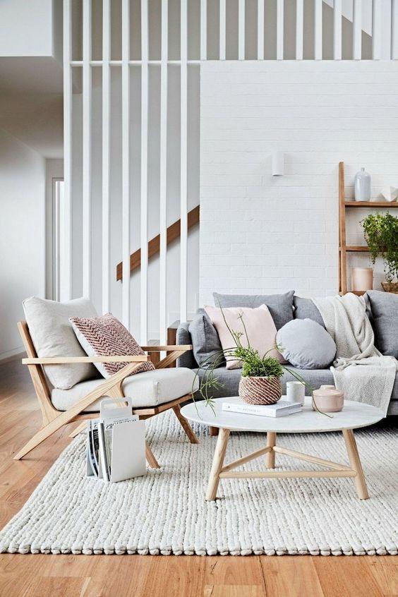 Scandinavian Living Room: Warm Neutral Decor