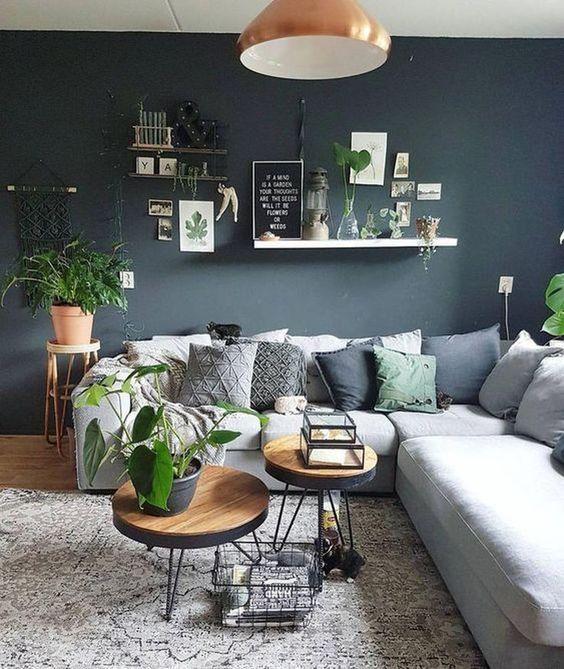 Scandinavian Living Room: Stylish Monochrome Decor