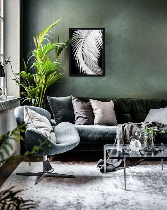 Scandinavian Living Room: Elegant Earthy Decor