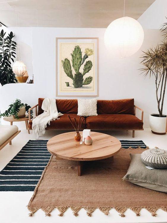 Scandinavian Living Room: Brightly Chic Decor