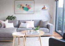 scandinavian living room feature