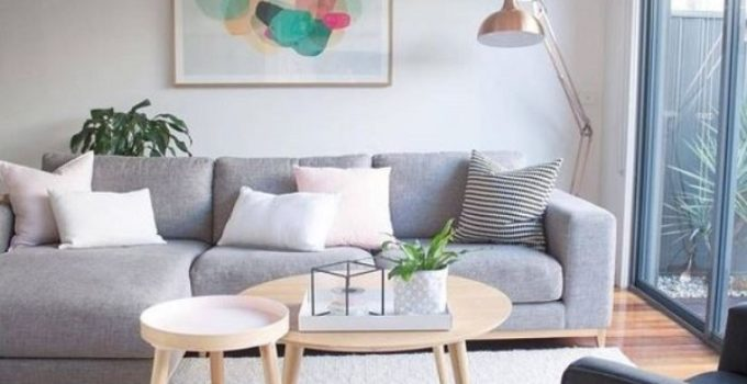 scandinavian living room feature