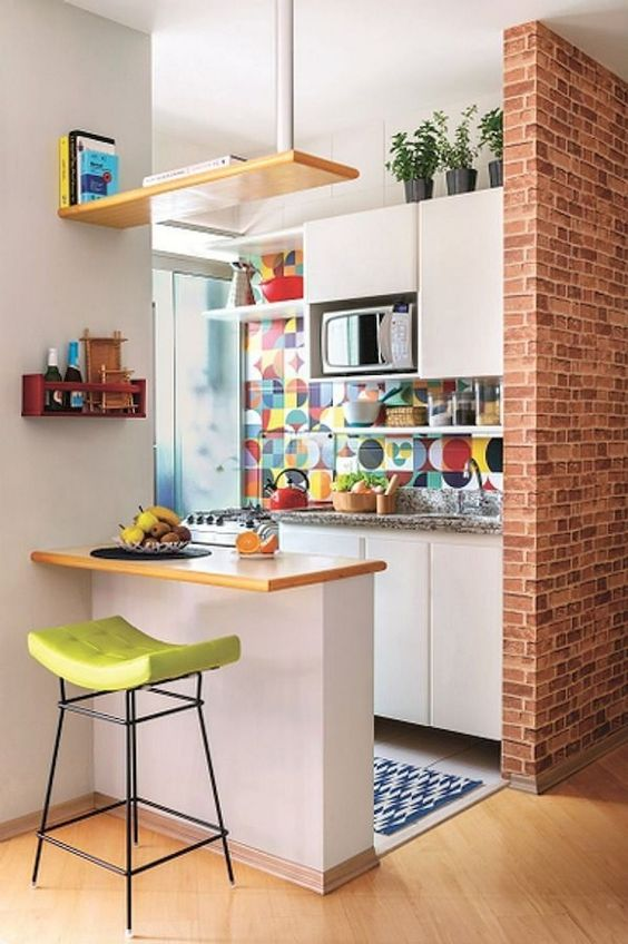 Simple Kitchen Ideas: Catchy Eclectic Decor