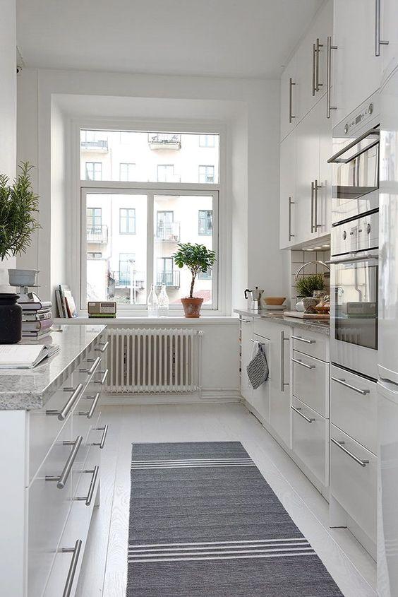Simple Kitchen Ideas: Gorgeous All-White Nuance